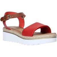 Παπούτσια Γυναίκα Σανδάλια / Πέδιλα Jeiday 1278-9696 το κόκκινο