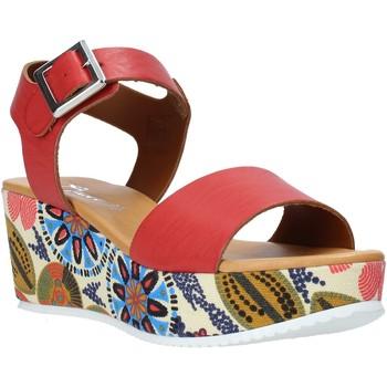 Παπούτσια Γυναίκα Σανδάλια / Πέδιλα Grace Shoes 03 το κόκκινο