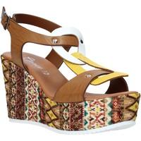 Παπούτσια Γυναίκα Σανδάλια / Πέδιλα Grace Shoes 09 καφέ