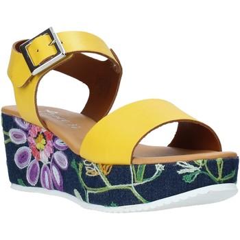 Παπούτσια Γυναίκα Σανδάλια / Πέδιλα Grace Shoes 02 Κίτρινος