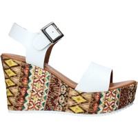 Παπούτσια Γυναίκα Σανδάλια / Πέδιλα Grace Shoes 08 λευκό