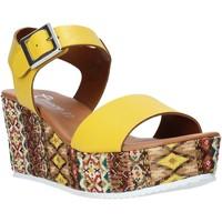 Παπούτσια Γυναίκα Σανδάλια / Πέδιλα Grace Shoes 06 Κίτρινος