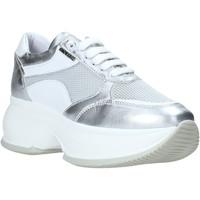 Παπούτσια Γυναίκα Χαμηλά Sneakers Exton 1575 Ασήμι