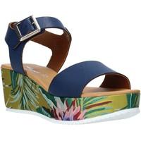 Παπούτσια Γυναίκα Σανδάλια / Πέδιλα Grace Shoes 01 Μπλε