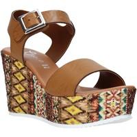 Παπούτσια Γυναίκα Σανδάλια / Πέδιλα Grace Shoes 08 καφέ