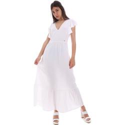 Υφασμάτινα Γυναίκα Μακριά Φορέματα Gaudi 011BD15039 λευκό