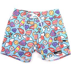 Υφασμάτινα Άνδρας Μαγιώ / shorts για την παραλία Rrd - Roberto Ricci Designs 18319 Μπλε