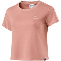 Υφασμάτινα Γυναίκα T-shirt με κοντά μανίκια Puma 575065 Ροζ