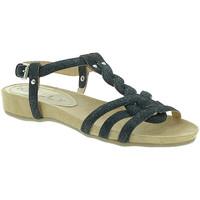 Παπούτσια Γυναίκα Σανδάλια / Πέδιλα Mally 3828GL Μαύρος