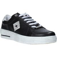 Παπούτσια Άνδρας Χαμηλά Sneakers Exton 178 Μαύρος