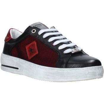 Παπούτσια Άνδρας Χαμηλά Sneakers Exton 177 Μαύρος