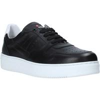 Παπούτσια Άνδρας Χαμηλά Sneakers Exton 427 Μαύρος