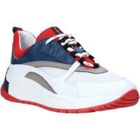Παπούτσια Άνδρας Χαμηλά Sneakers Exton 291 λευκό