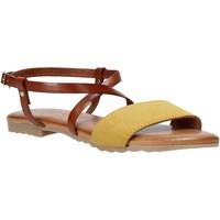 Παπούτσια Γυναίκα Σανδάλια / Πέδιλα Jeiday YARA-SALLY Κίτρινος