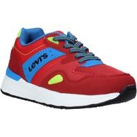 Παπούτσια Παιδί Χαμηλά Sneakers Levi's VBOS0010T το κόκκινο