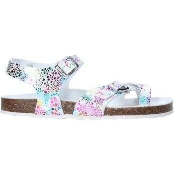 Παπούτσια Κορίτσι Σανδάλια / Πέδιλα Grunland SB1503 λευκό
