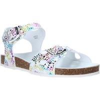 Παπούτσια Κορίτσι Σανδάλια / Πέδιλα Grunland SB1502 λευκό