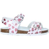 Παπούτσια Κορίτσι Σανδάλια / Πέδιλα Grunland SB1535 λευκό