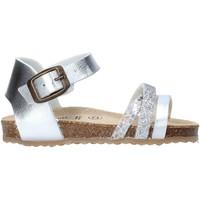 Παπούτσια Κορίτσι Σανδάλια / Πέδιλα Grunland SB1544 Ασήμι