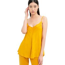 Υφασμάτινα Γυναίκα Μπλούζες Fracomina FR20SM551 Κίτρινος
