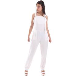 Υφασμάτινα Γυναίκα Ολόσωμες φόρμες / σαλοπέτες Gaudi 011BD25049 λευκό
