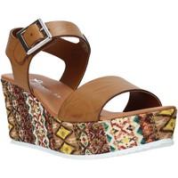 Παπούτσια Γυναίκα Σανδάλια / Πέδιλα Grace Shoes 06 καφέ