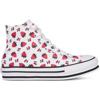 Παπούτσια Κορίτσι Ψηλά Sneakers Converse 668016C λευκό