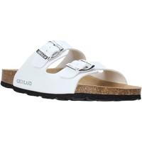 Παπούτσια Γυναίκα Τσόκαρα Grunland CB1035 λευκό