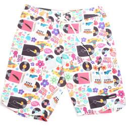 Υφασμάτινα Άνδρας Μαγιώ / shorts για την παραλία Rrd - Roberto Ricci Designs 18322 λευκό