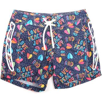 Υφασμάτινα Άνδρας Μαγιώ / shorts για την παραλία Rrd - Roberto Ricci Designs 18320 Μπλε