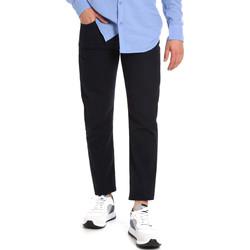 Υφασμάτινα Άνδρας Παντελόνια Chino/Carrot Les Copains 9U3021 Μπλε