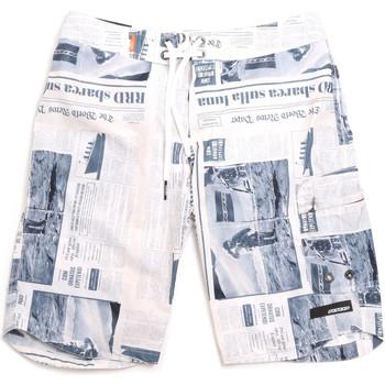 Υφασμάτινα Άνδρας Μαγιώ / shorts για την παραλία Rrd - Roberto Ricci Designs 18328 Γκρί