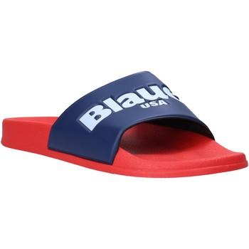 Παπούτσια Άνδρας σαγιονάρες Blauer S0BAY02/PUC το κόκκινο