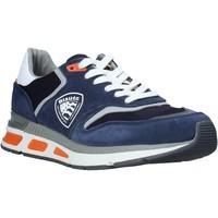 Παπούτσια Άνδρας Χαμηλά Sneakers Blauer S0HILO01/CAM Μπλε