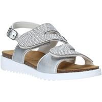 Παπούτσια Κορίτσι Σανδάλια / Πέδιλα Grunland SB1559 Ασήμι