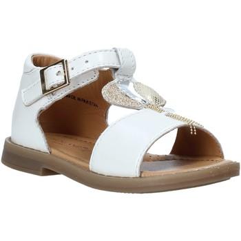 Παπούτσια Κορίτσι Σανδάλια / Πέδιλα Grunland PS0063 λευκό