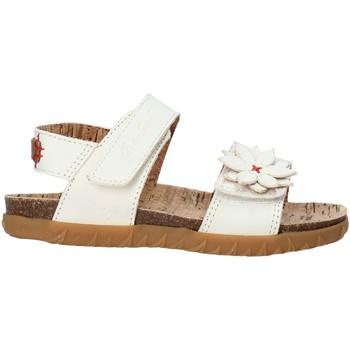 Παπούτσια Κορίτσι Σανδάλια / Πέδιλα Grunland SB1564 λευκό