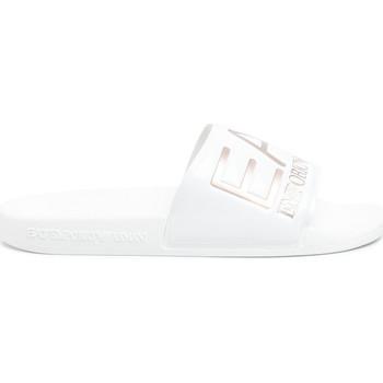 Παπούτσια Γυναίκα σαγιονάρες Ea7 Emporio Armani XCP001 XCC22 λευκό