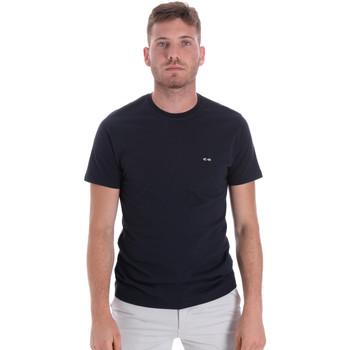 Υφασμάτινα Άνδρας T-shirt με κοντά μανίκια Les Copains 9U9011 Μπλε