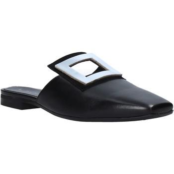 Παπούτσια Γυναίκα Σαμπό Mally 6886 Μαύρος
