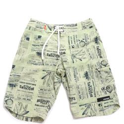 Υφασμάτινα Άνδρας Μαγιώ / shorts για την παραλία Rrd - Roberto Ricci Designs 18328 Πράσινος