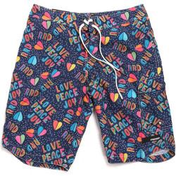 Υφασμάτινα Άνδρας Μαγιώ / shorts για την παραλία Rrd - Roberto Ricci Designs 18322 Μπλε