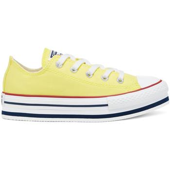 Παπούτσια Παιδί Χαμηλά Sneakers Converse 668283C Κίτρινος