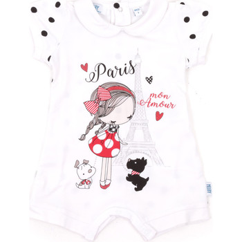 Υφασμάτινα Παιδί Ολόσωμες φόρμες / σαλοπέτες Melby 20P7021 λευκό