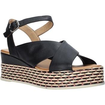 Παπούτσια Γυναίκα Σανδάλια / Πέδιλα Bueno Shoes Q5901 Μαύρος