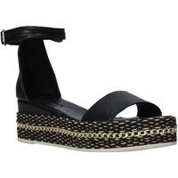 Παπούτσια Γυναίκα Σανδάλια / Πέδιλα Bueno Shoes Q5908 Μαύρος