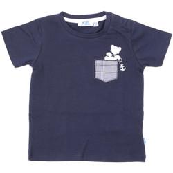 Υφασμάτινα Παιδί T-shirt με κοντά μανίκια Melby 20E5070 Μπλε