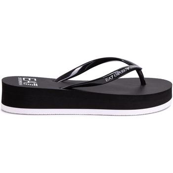 Παπούτσια Γυναίκα Σαγιονάρες Ea7 Emporio Armani XFQ008 XK085 Μαύρος