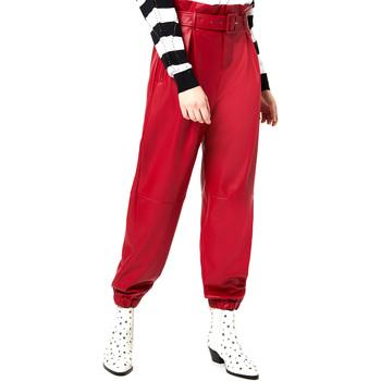 Υφασμάτινα Γυναίκα Παντελόνια Chino/Carrot Liu Jo WA0276 E0392 το κόκκινο