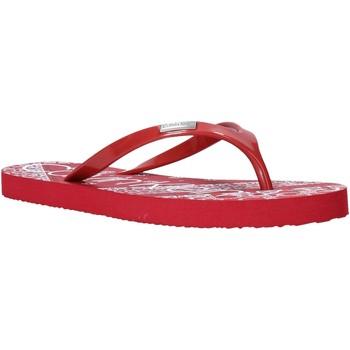 Παπούτσια Γυναίκα Σαγιονάρες Calvin Klein Jeans E8853 το κόκκινο